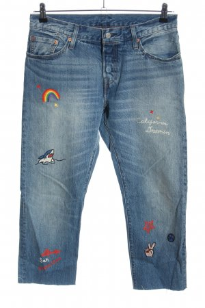 Levi's 7/8 Length Jeans blue casual look