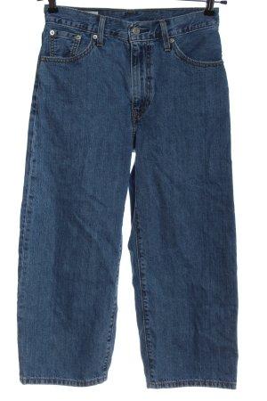 Levi's Jeans 7/8 bleu style décontracté