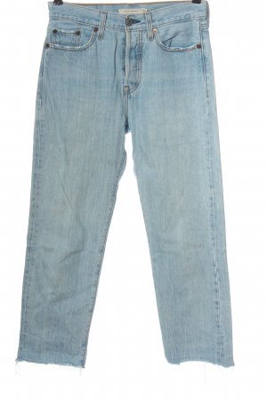 Levi's Jeansy 7/8 niebieski W stylu casual