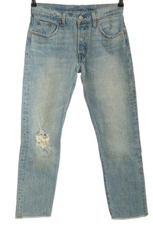 Levi's 7/8 Jeans blau Casual-Look