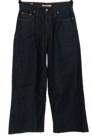Levi's 7/8-jeans blauw casual uitstraling