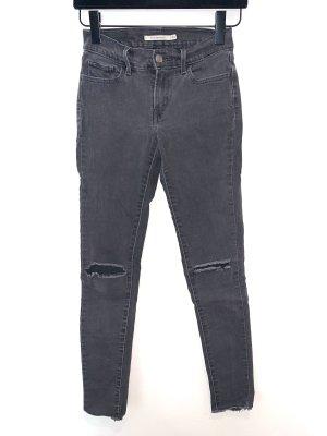 Levi's 710 Low Waist Super Skinny Jeans