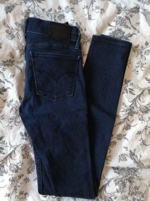 Levi's 710 Super skinny jeans ❤️ in dunkelblau