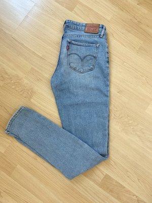 Levi's 711 Skinny Jeans hellblau Größe 28/34