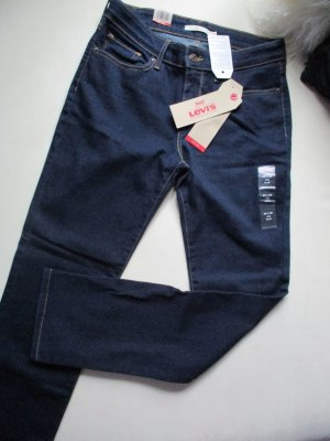 Levi's Jeans slim bleu foncé coton