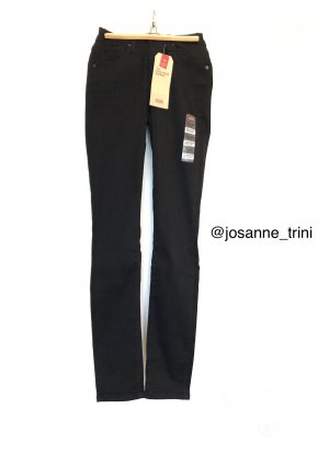 Levi's Jeans taille haute noir coton
