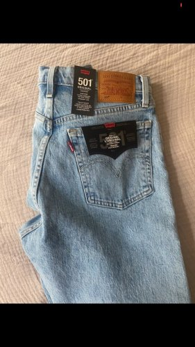 Levi's Jeans a 7/8 azzurro