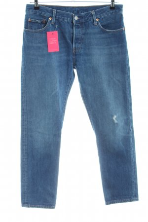 Levi's Baggy jeans blauw casual uitstraling