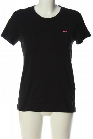 Levi's Basic-Shirt Schriftzug gedruckt Elegant