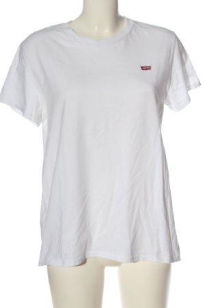 Levi's Camiseta Básico blanco look casual
