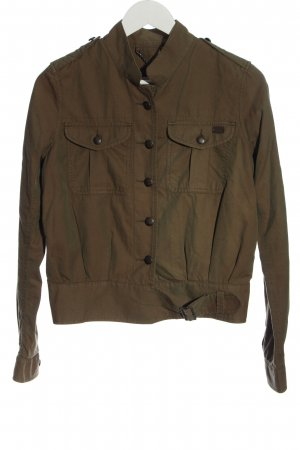 Levi's Bomber Jacket brown casual look