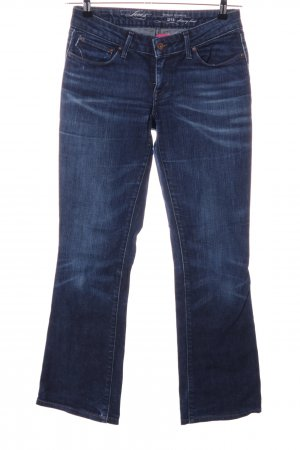 Levi's Vaquero de corte bota azul look casual