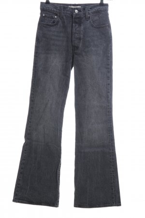Levi's Vaquero de corte bota gris claro look casual