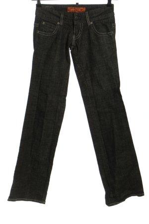 Levi's Boot Cut Jeans hellgrau meliert Casual-Look