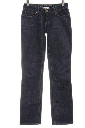 Levi's Boot Cut Jeans blau Casual-Look