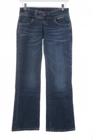 Levi's Boot Cut Jeans blau-stahlblau Logo-Applikation