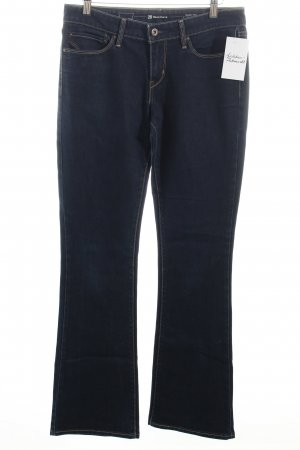 Levi's Boot Cut Jeans dunkelblau Casual-Look