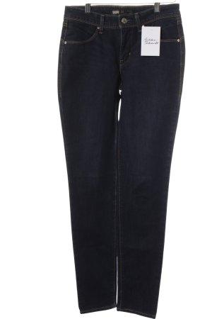 Levi's Boot Cut Jeans dunkelblau Street-Fashion-Look