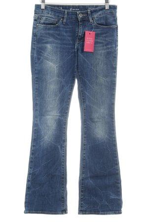 Levi's Boot Cut Jeans stahlblau Logo-Applikation