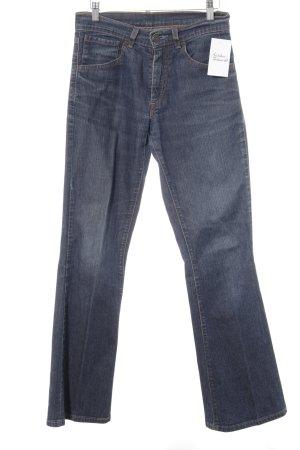 Levi's Jeansy o kroju boot cut stalowy niebieski W stylu casual