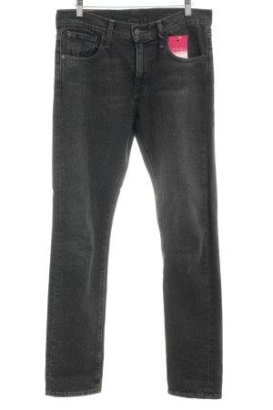 Levi's Boyfriend jeans antraciet Gemengd weefsel