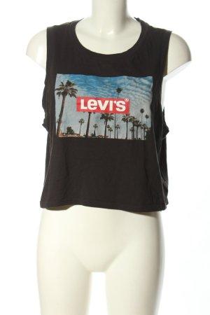 Levi's Camisole prints met een thema atletische stijl