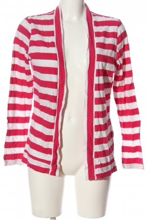 Levi's Cardigan weiß-pink Allover-Druck Casual-Look