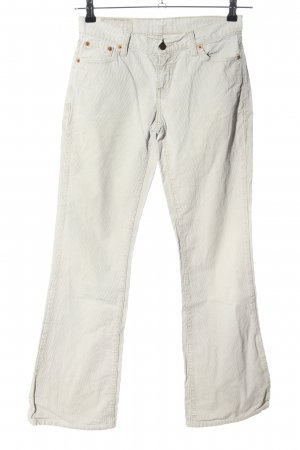 Levi's Corduroy Trousers light grey casual look