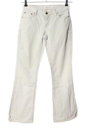 Levi's Pantalón de pana gris claro look casual