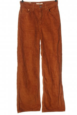 Levi's Pantalón de pana naranja claro look casual