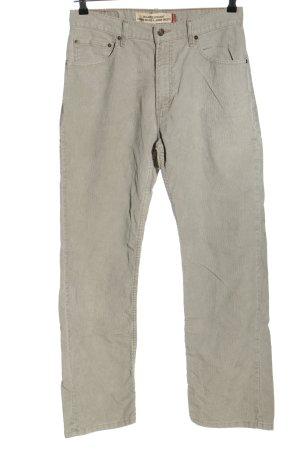 Levi's Corduroy broek lichtgrijs casual uitstraling