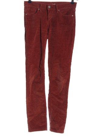 Levi's Pantalone di velluto a coste marrone stile casual