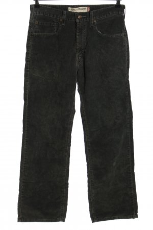 Levi's Corduroy Trousers black flecked casual look