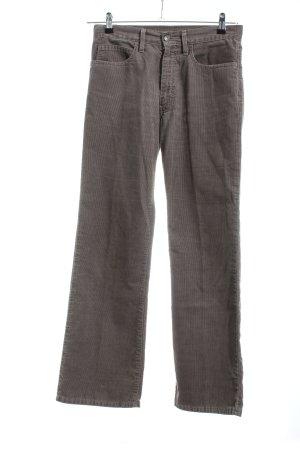 Levi's Pantalon en velours côtelé brun style décontracté