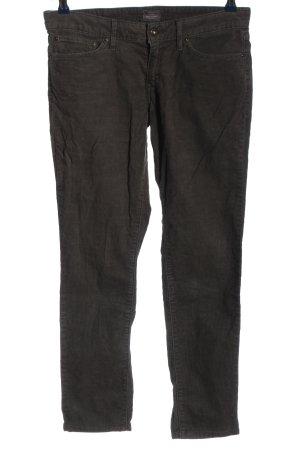 Levi's Pantalone di velluto a coste nero stile casual