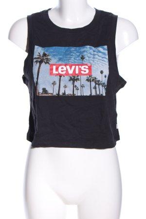Levi's Cropped top prints met een thema casual uitstraling