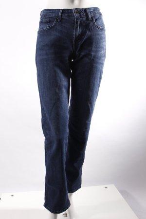 Levi's Demi Curve Jeans Dunkelblau und im Classic Straight Schnitt