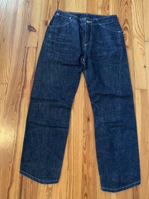 Levi's 7/8-jeans blauw-donkerblauw