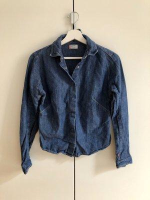 LEVI'S Engineered Jeans Girls Jacke Bluse Gr. S Denim Blau