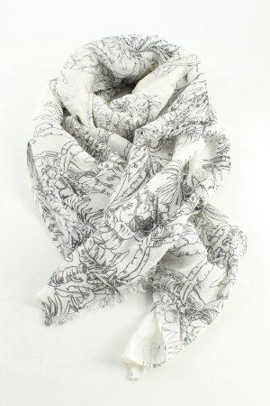 Levi's Bufanda de flecos blanco puro-negro look casual