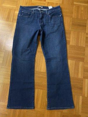 Levi's Vaquero de corte bota azul