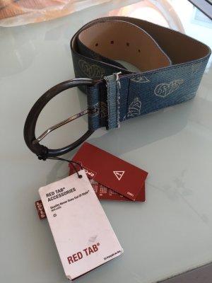 Levi's Leather Belt azure leather