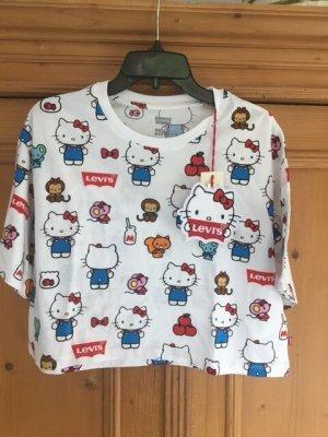 Levi's  Hello Kitty Shirt, ausverkauft, Gr. S (M), neu mit Original Bügelbild