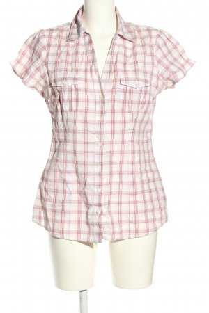 Levi's Hemd-Bluse weiß-pink Allover-Druck Casual-Look