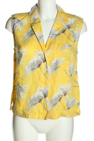 Levi's Blouse-chemisier jaune primevère-gris clair imprimé allover