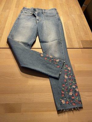 Levi's Jeans skinny azzurro-rosso