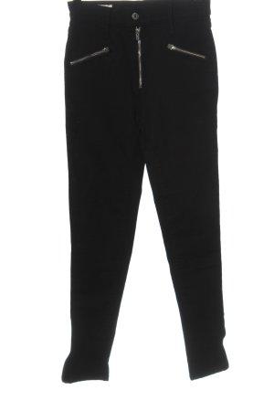 Levi's Pantalone a vita alta nero stile casual
