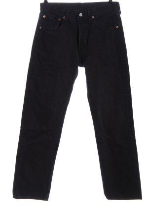 Levi's Jeansy z wysokim stanem czarny W stylu casual