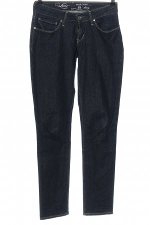 Levi's Slim jeans blauw casual uitstraling