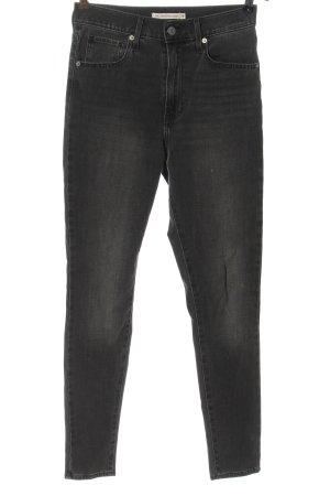 Levi's Jeansy z wysokim stanem jasnoszary W stylu casual